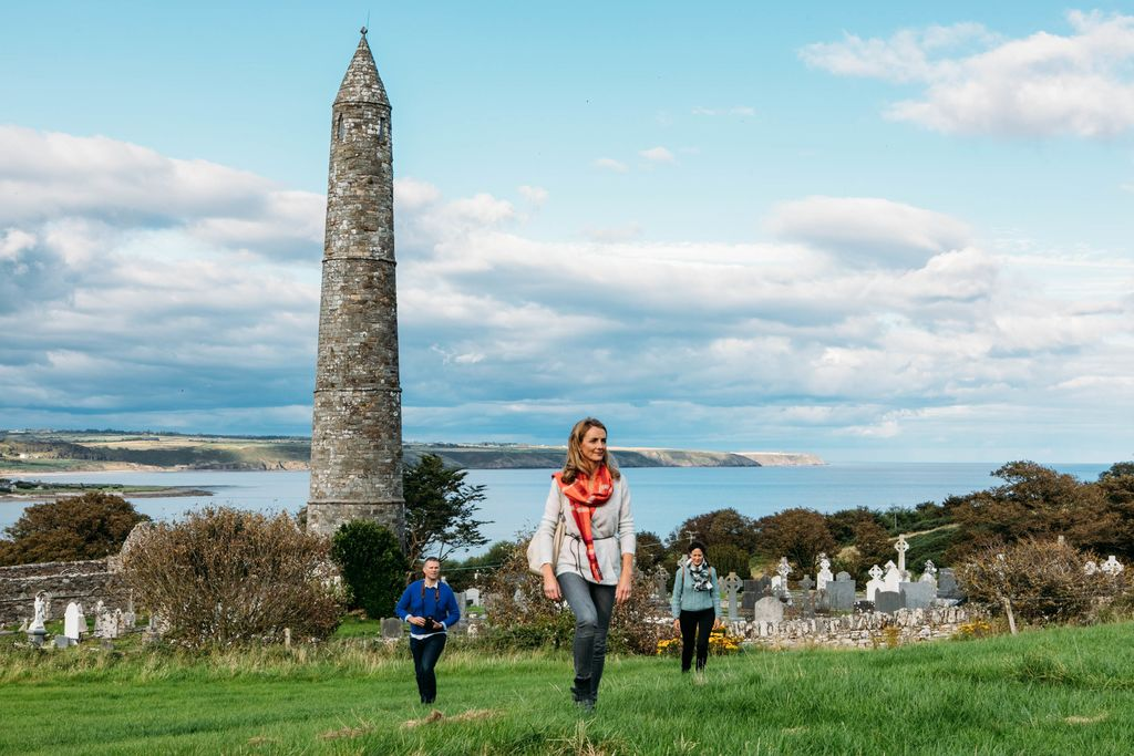 medium-Ardmore Round Tower and Cathedral Monastic Site.jpg