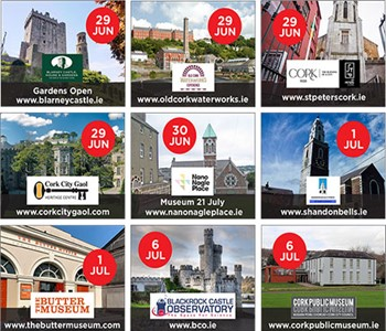 Cork City Attractions - Reopening Dates