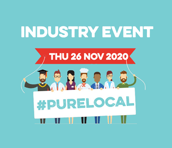 #PureLocal campaign, industry event, and supports